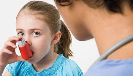 Очень часто, астмой страдают детишки