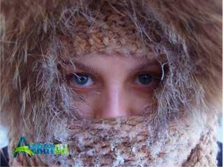 Проявление аллергии при морозе